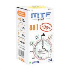 MTF H27 12V-881 27W Standard +30%