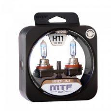 MTF H11 12V-55W Iridium Light