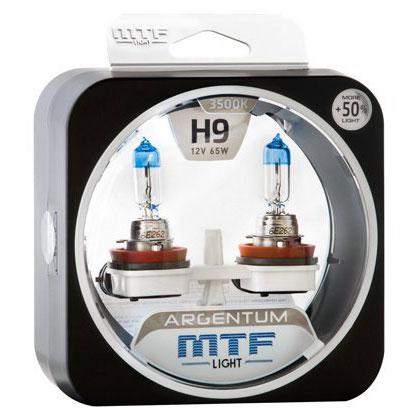 MTF H9 12V-55W Argentum +50% Light