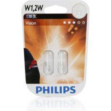 PHILIPS 12V-W1, 2W блистер